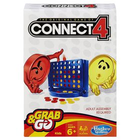 Hasbro Gaming - Grab & Go - Jeu Connect 4