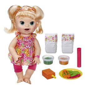 Baby Alive Super Snacks Snackin' Sara (Blonde)