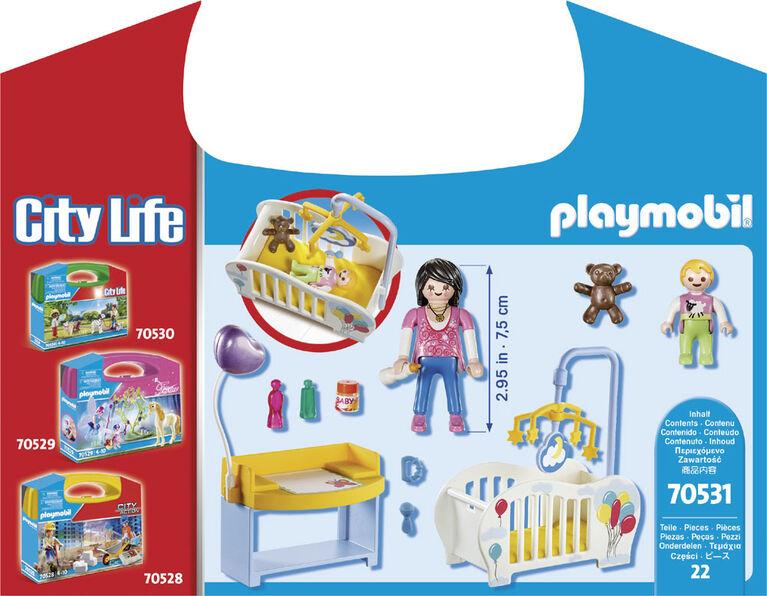 Playmobil - Valisette Chambre de bébé