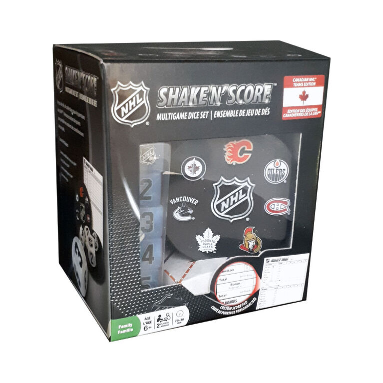 Shake 'n Score NHL Canadian Teams