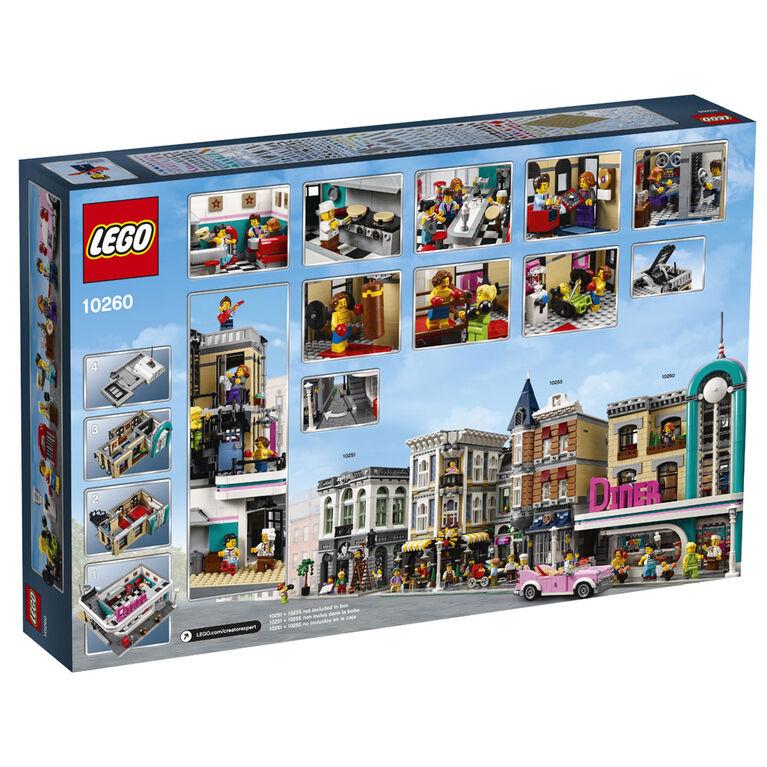 LEGO Creator Expert Un dîner au centre-ville 10260