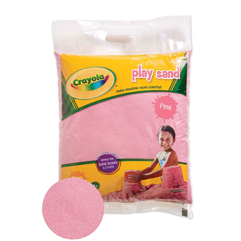 Crayola - 9 Kg Coloured PlaySand - Pink
