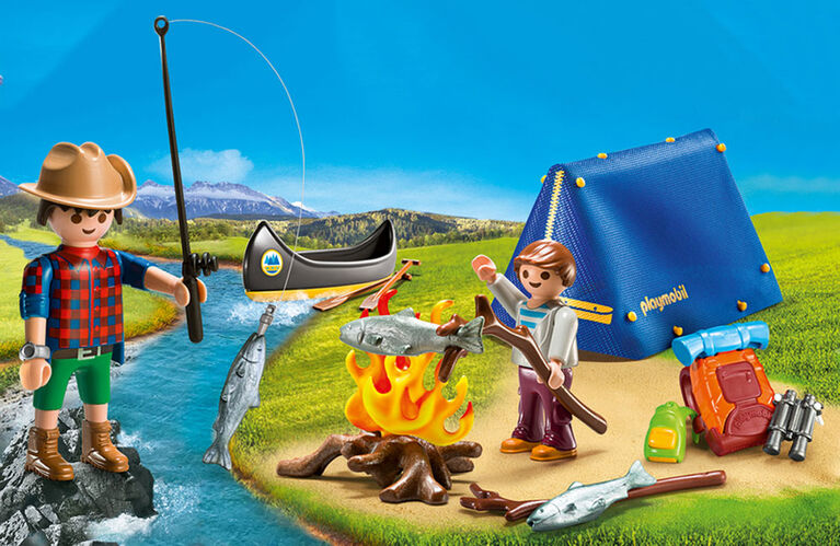 Playmobil - Valisette Campeurs