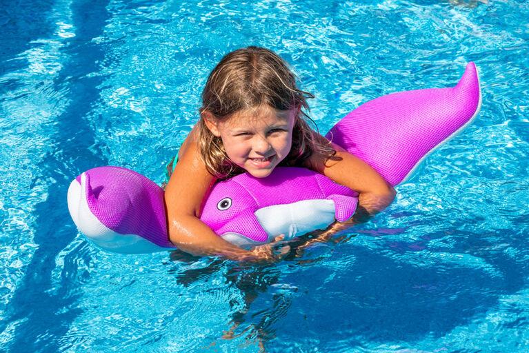 Flotteur en forme de raie pour piscines - Violet
