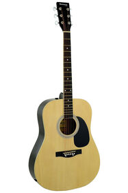 Guitare Acoustique Dreadnought Huntington de Bridgecraft - Naturel