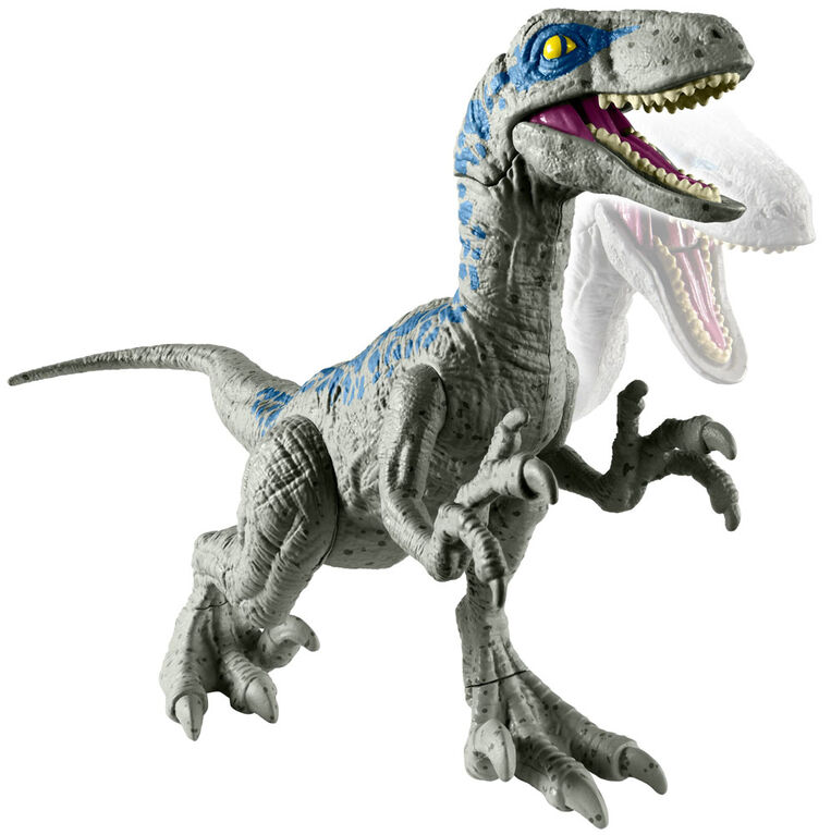 "Jurassic World Attack Pack Velociraptor ""blue."