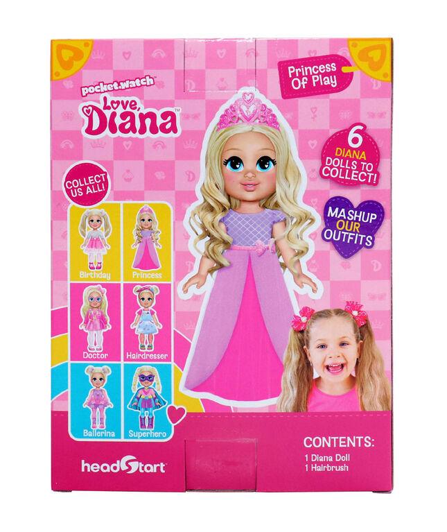 "Love, Diana - 6"" Princess Diana Doll - English Edition"