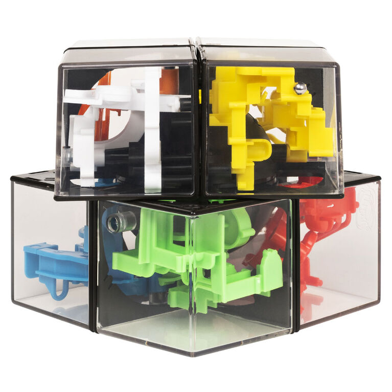 Rubik's Perplexus Hybrid 2 x 2, Challenging Puzzle Maze Skill Game