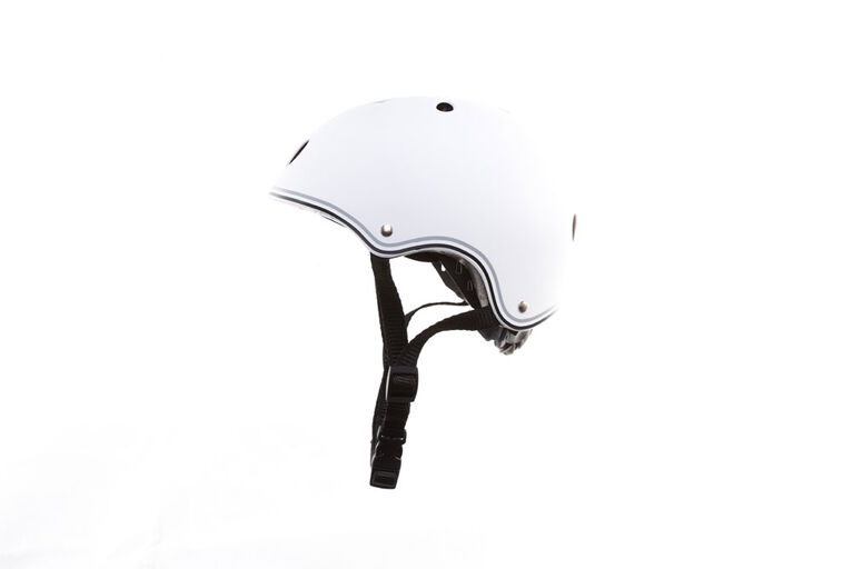 Globber Junior Helmet for Scooter - Blanc - Édition anglaise