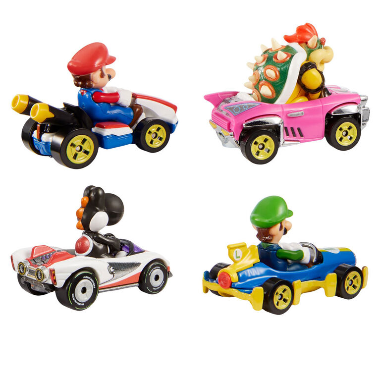 Hot Wheels - Mario Kart - Coffret