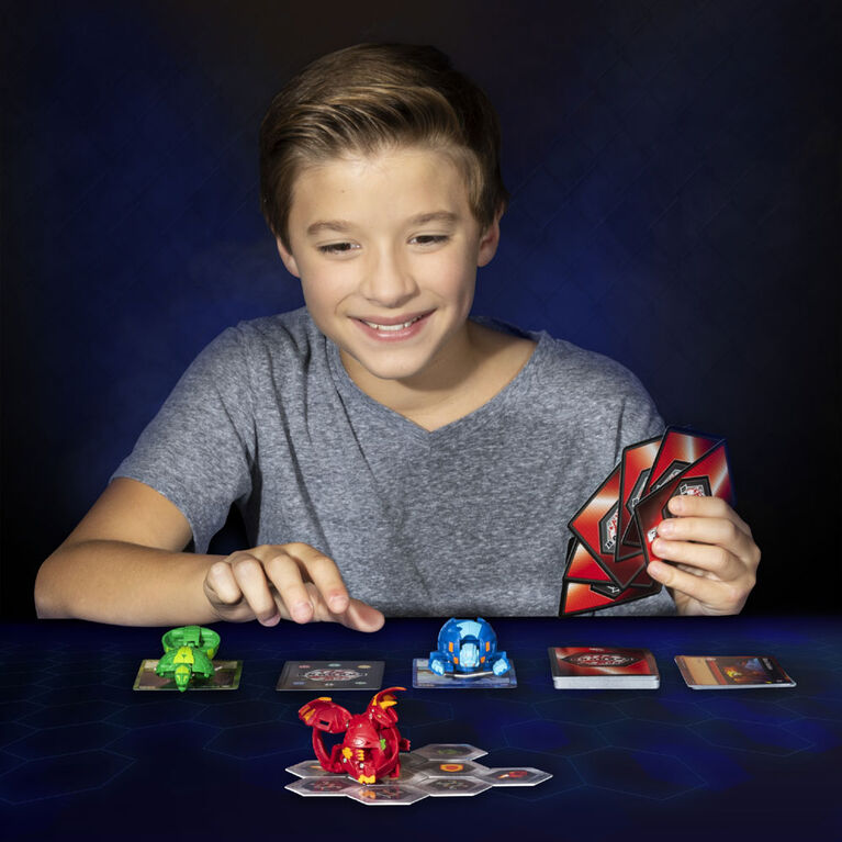 Bakugan, Nillious, Créature transformable à collectionner de 5 cm.