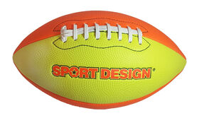 Football américain cousu au néon