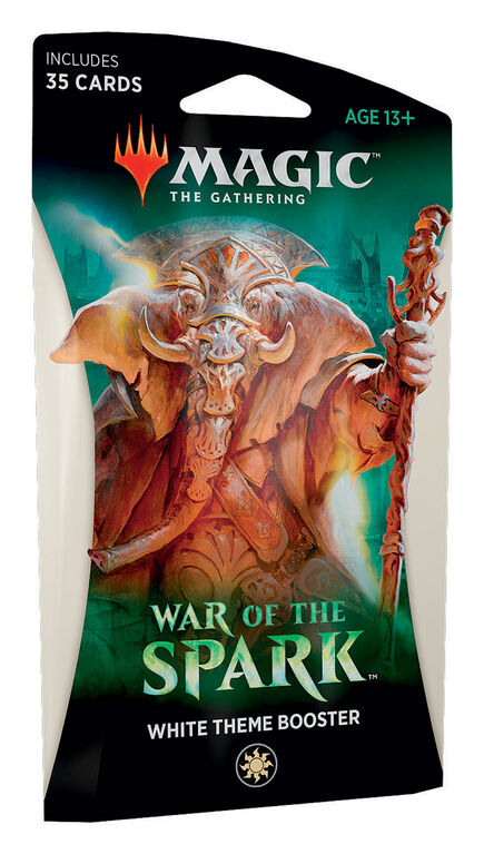 """Magic the Gathering """"War of the Spark"""" Theme Booster"""