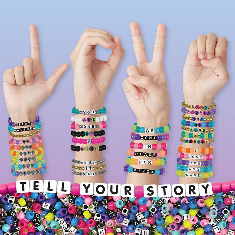 Fashion Angels - Tell Your Story Alphabet Bead Set - 1500+ beads