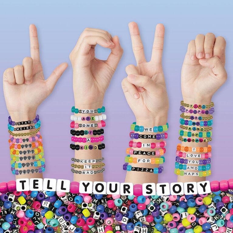 Fashion Angels Raconter Votre Histoire Alphabet Ensemble De Perles -1500 + Perles