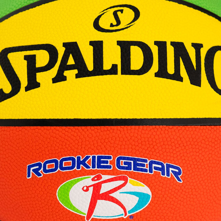 Spalding Rookie Gear Composite Basketball, Size 5