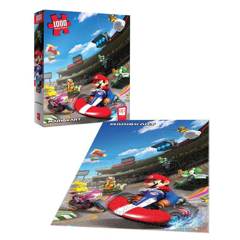 """Super Mario """"Mario Kart"""" 1000 Piece Puzzle - English Edition"""