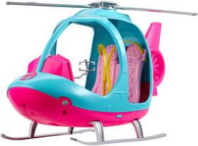 Barbie Travel Helicopter Set