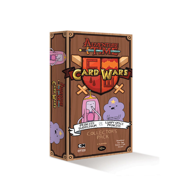 Adventure Time Card Wars Princess Bubblegum vs Lumpy Space Princess