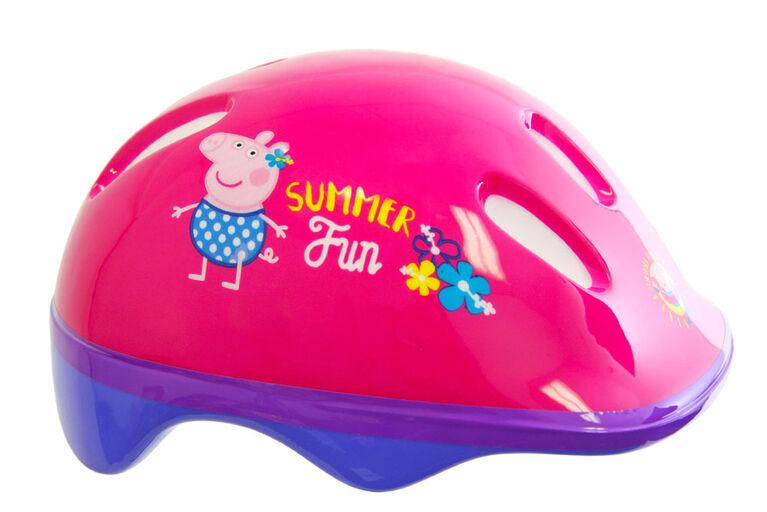Peppa the Pig - Bike Helmet and Pad Set - Toddler
