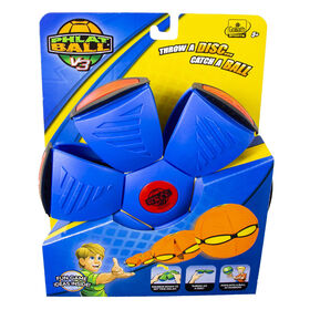 Goliath - Phlat Ball V3 - Blue with Orange Bumper
