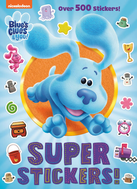 Super Stickers! (Blue's Clues & You) - Édition anglaise