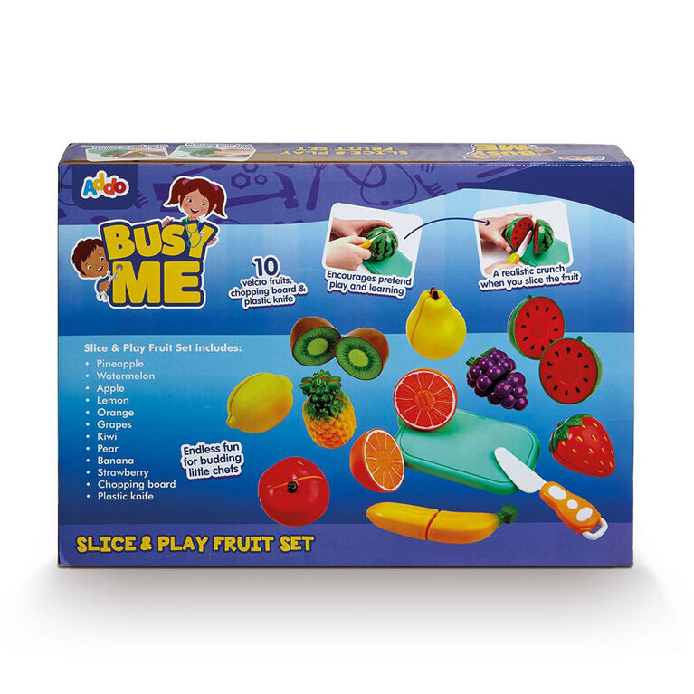 Busy Me Slice & Play Veggie Set