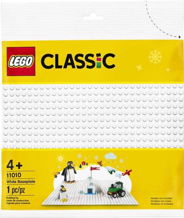 LEGO Classic White Baseplate 11010