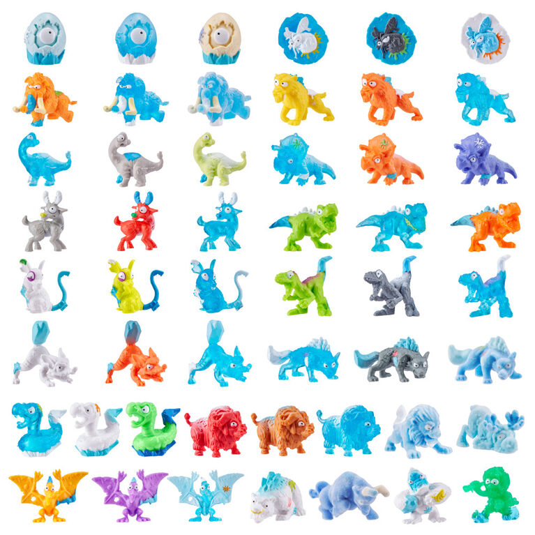 Paquet de 8 Smashers Dino Ice Age