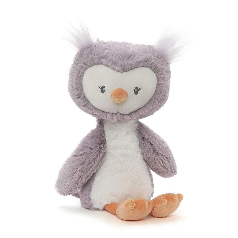 Baby GUND - Baby Toothpick Quinn Owl Plush Stuffed Animal, Purple and Cream, 12""