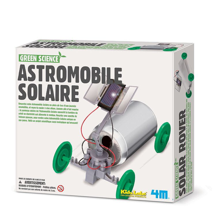 4M Solar Rover - French Edition