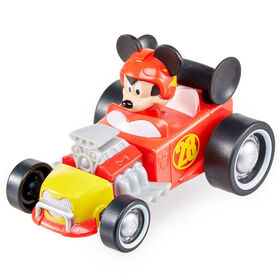 Fisher-Price - Disney Mickey and The Roadster Racers - Pull 'N Go Hot Rod Vehicle