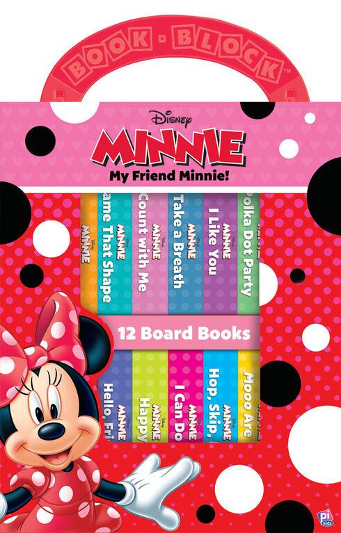 Ma Première Bibliothèque De Minnie À Pois Rouges - Édition anglaise