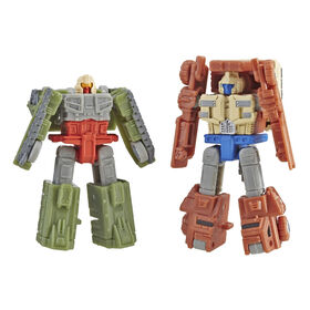 Transformers Generations War for Cybertron: Siege Micromaster Battle Patrol 2-pack Action Figure
