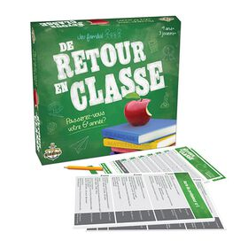 De retour en classe French Only