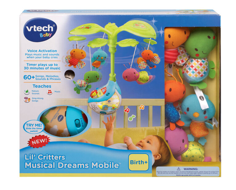Lil' Critters Musical Dreams Mobile - English Edition