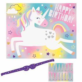 Unicorn Party Game for 16 - English Edition