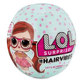 Poupées L.O.L. Surprise! #Hairvibes avec 15 surprises et perruques à agencer et associer