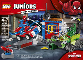 LEGO Juniors Spider-Man vs Scorpion Street Showdown 10754