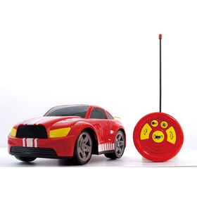 Bruin 12 inch 27 MHz Radio Control Car - Red