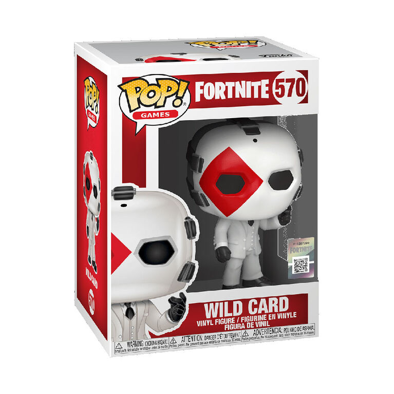 Funko POP! Games: Fortnite - Wild Card (Diamond)