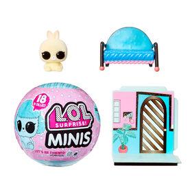Minis L.O.L. Surprise! avec 5+ surprises - petits animaux pelucheux, collectionnez-les pour bâtir une minuscule maison