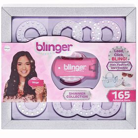 Blinger - Collection Shimmer, ensemble de luxe en prime - rose