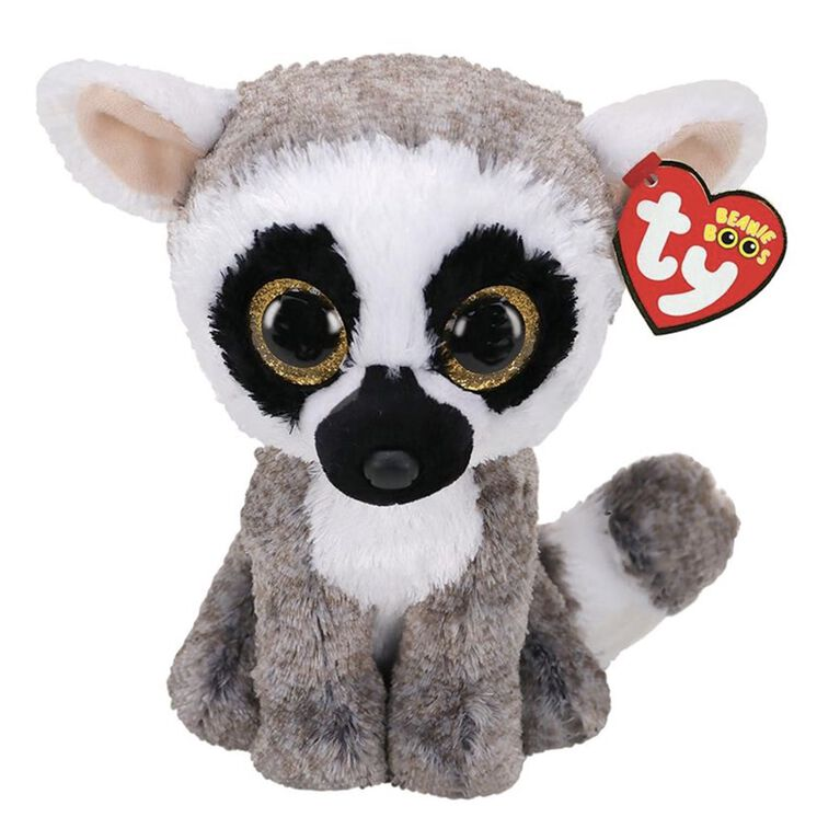 Ty Beanie Linus Lemur