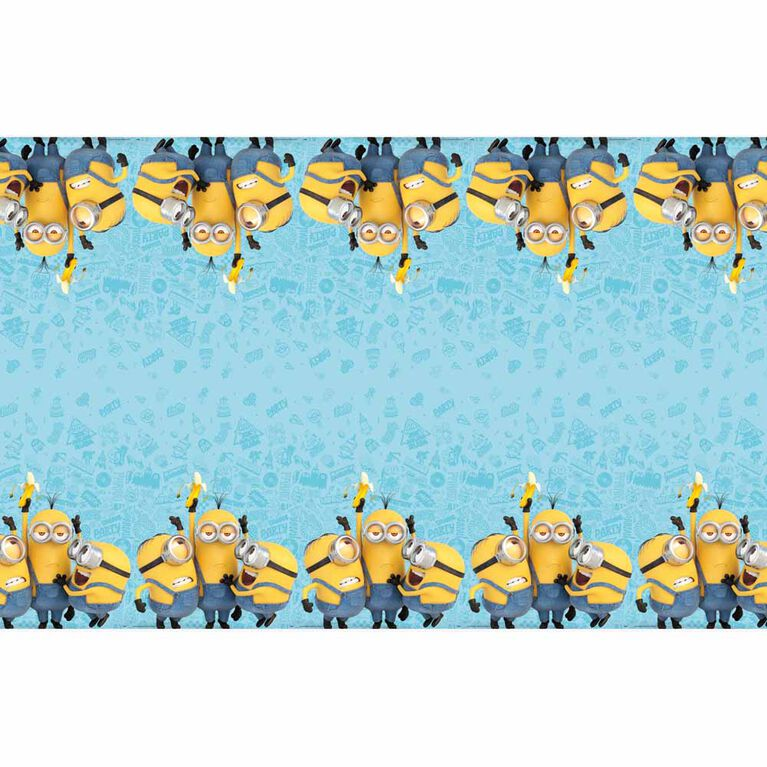 """Minions Table Cover 54""""x84"""""""