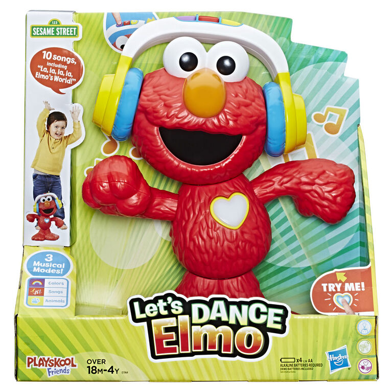 Playskool Friends Sesame Street Let's Dance Elmo - English Edition