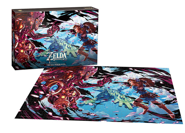 "Zelda: Breath of the Wild ""The Scourge of Divine Beast Vah Medoh"" 750 Piece Puzzle"