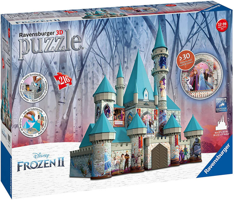 Ravensburger -  Disney Frozen 2 Castle casse-tête 216 pc