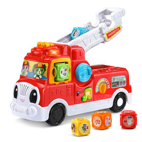 LeapFrog Tumbling Blocks Fire Truck - French Edition - R Exclusive