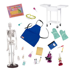 Our Generation, OG School Room Science Lab Set for 18-inch Dolls - English Edition